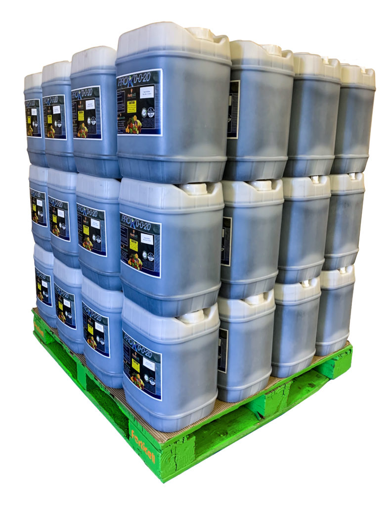 plant derived organic liquid potassium